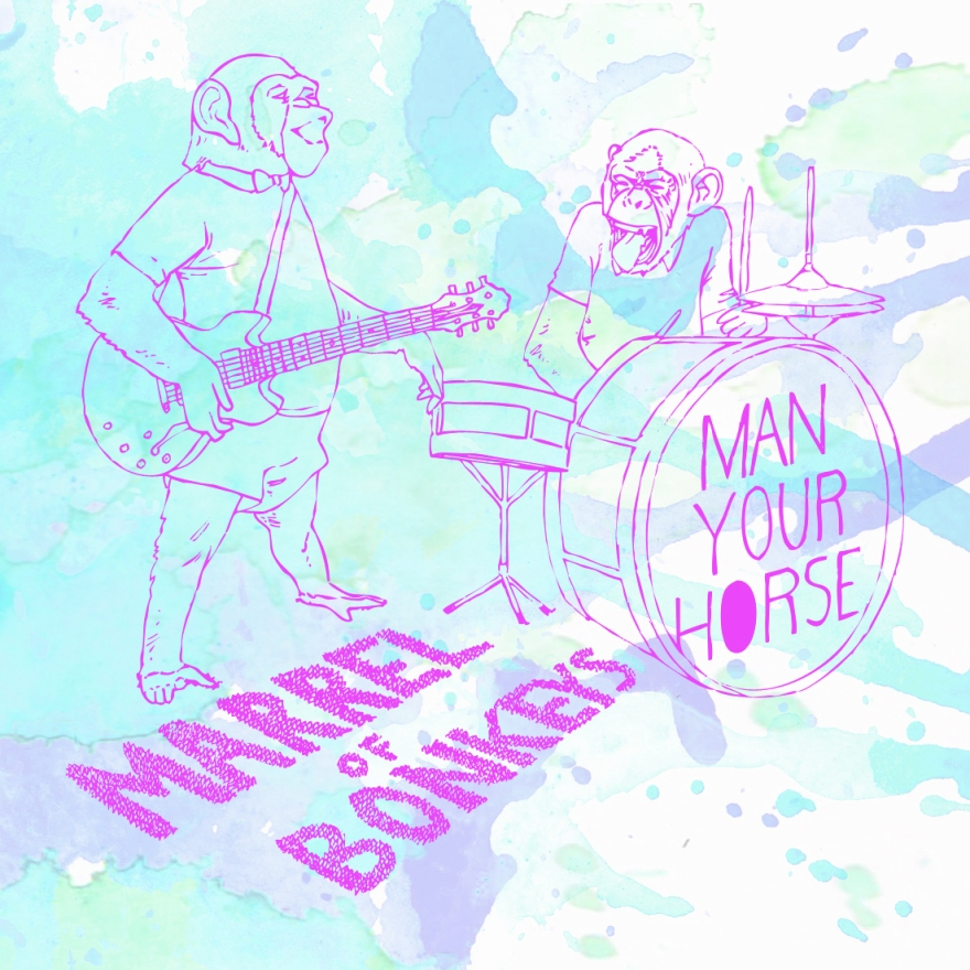 cd cover art for Man Your Horse