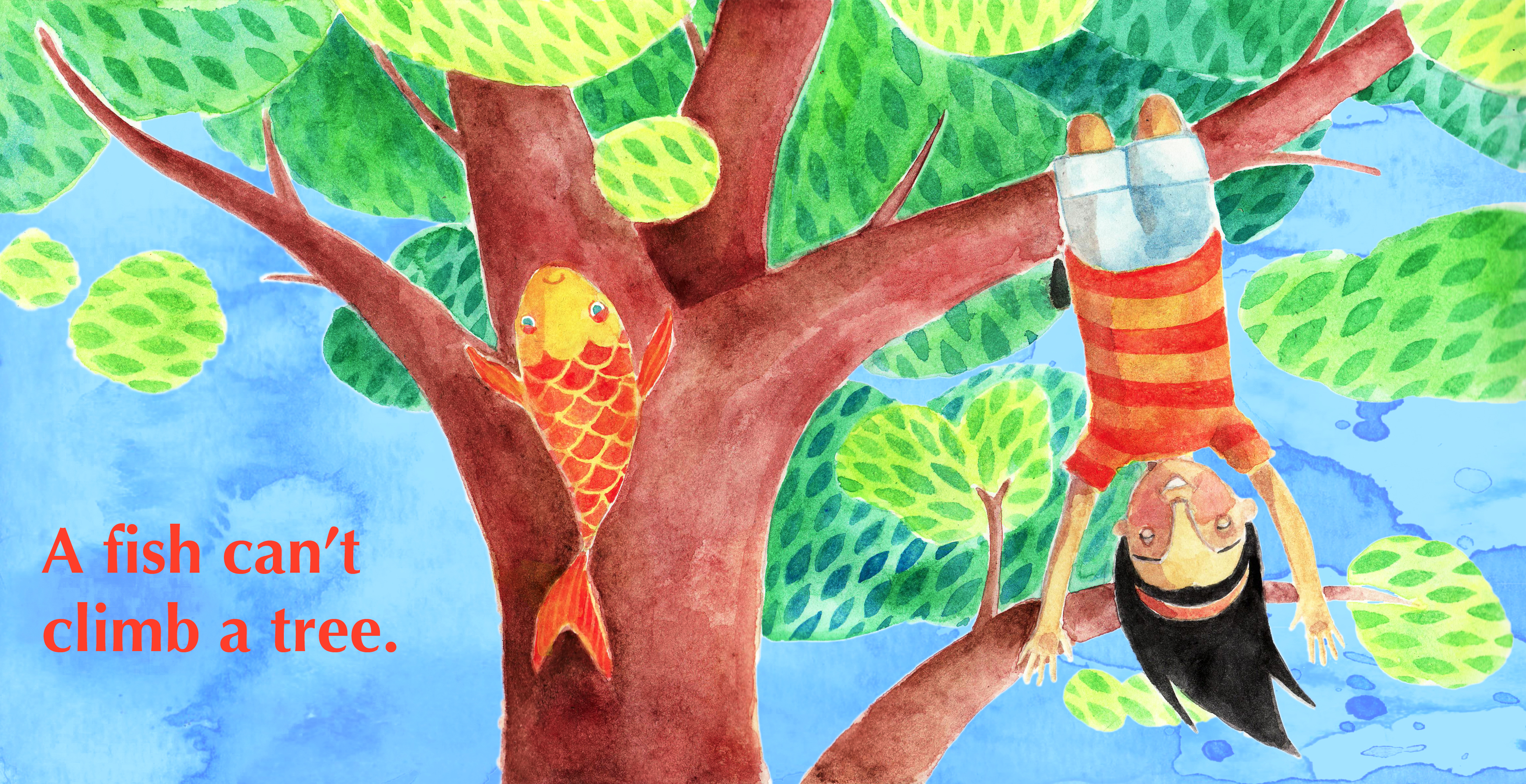 Play can can t flipquiz for Fish in a tree summary