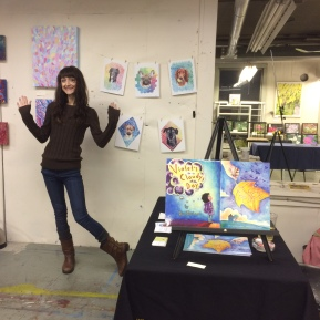 me and all the art!