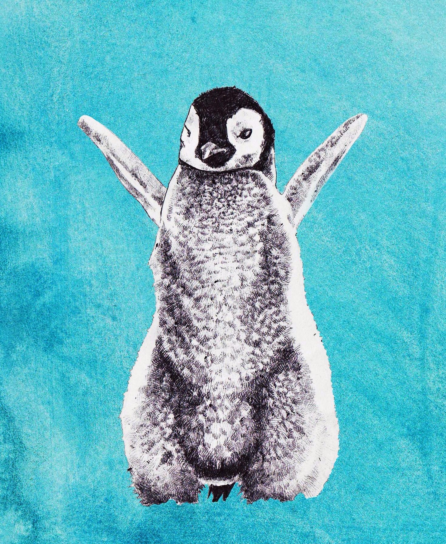 penguinxmascard