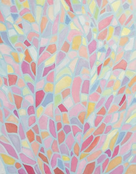 Flower Veins, 18 x 24